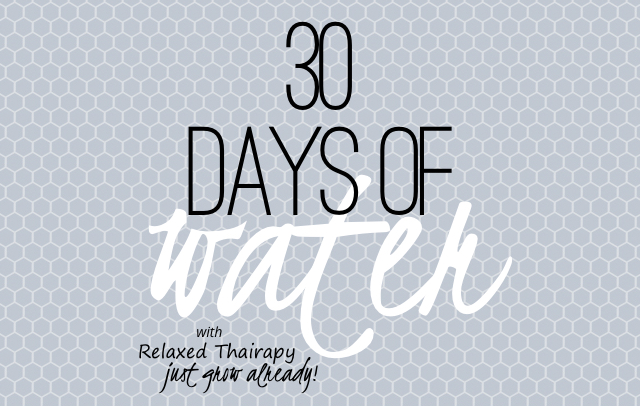 30 days of water